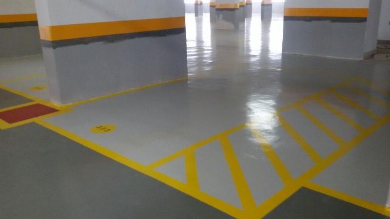 Pintura Epóxi para Estacionamento Diadema - Pintura Epóxi para Estacionamento