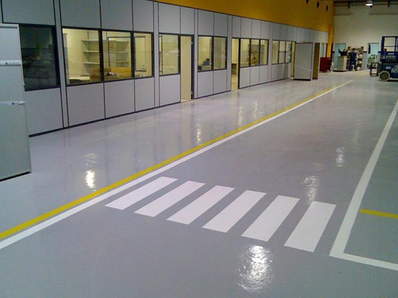 Pinturas Epóxi para Pisos Industriais Sumaré - Pintura Epóxi para Estacionamento