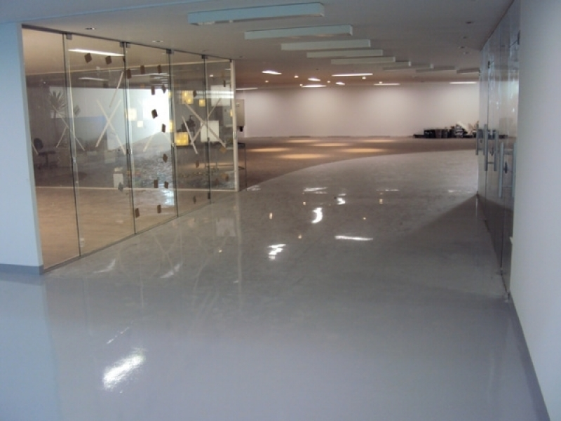 Revestimento Autonivelante em Epóxi Valor Ribeirão Preto - Revestimento Autonivelante em Epóxi