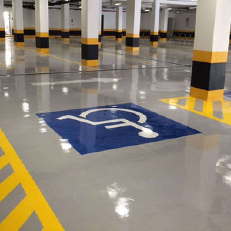 pintura epóxi em piso Valinhos