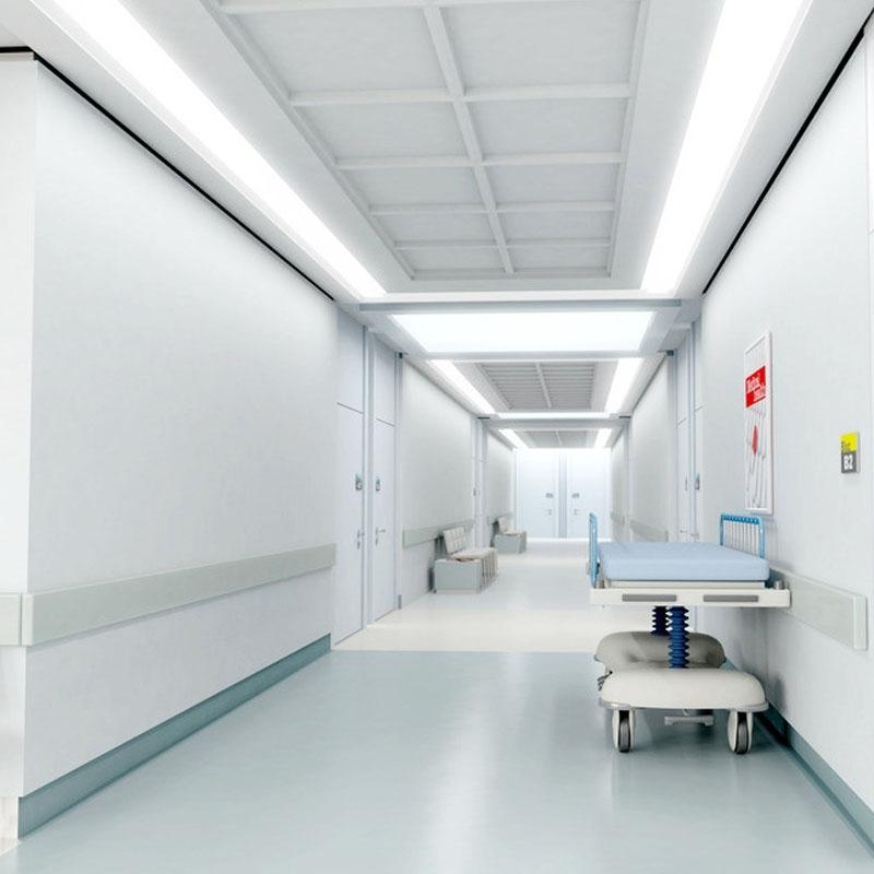 pintura epóxi hospitalar