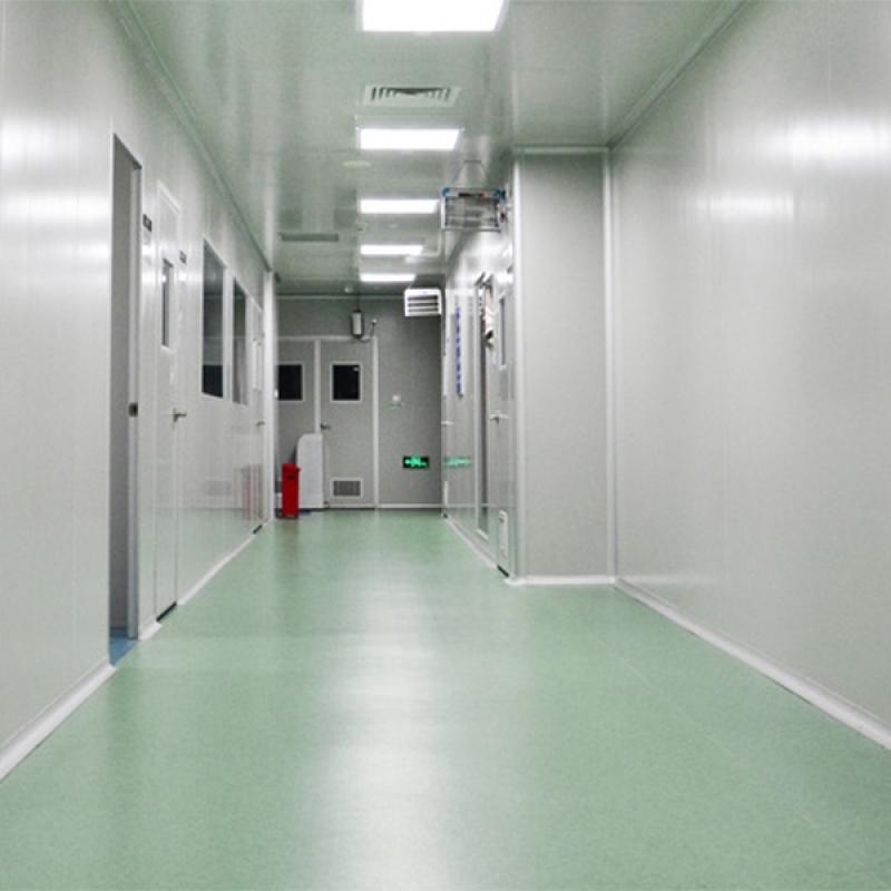 piso epóxi para laboratório Americana