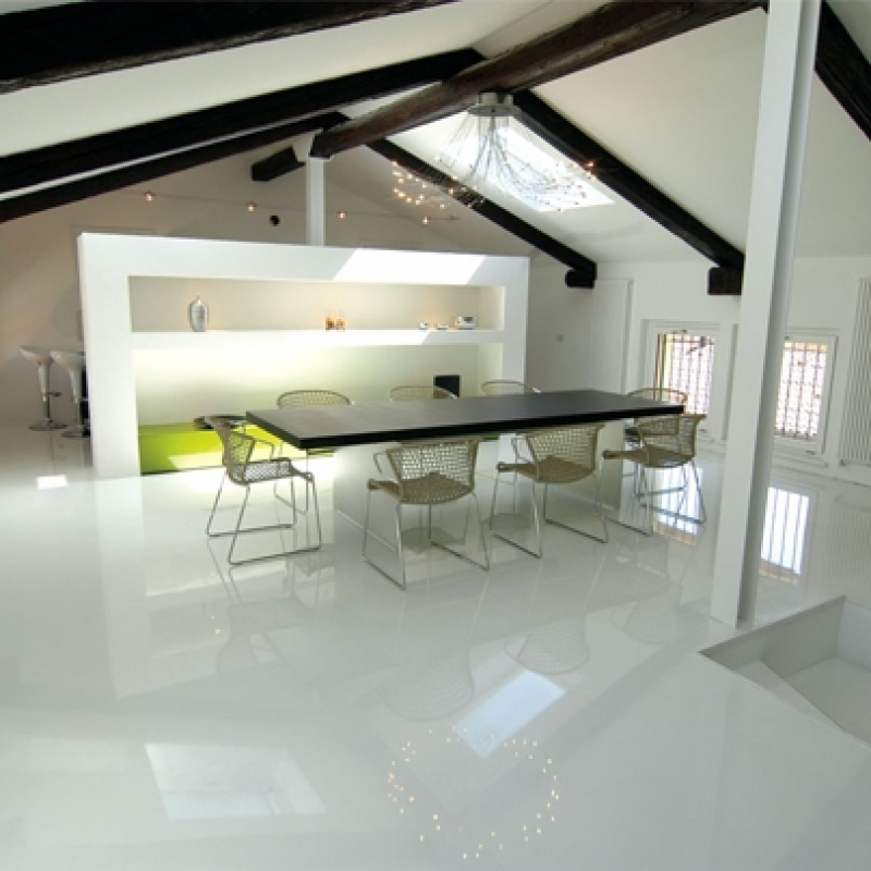pisos argamassa epóxi autonivelante branco Florianópolis